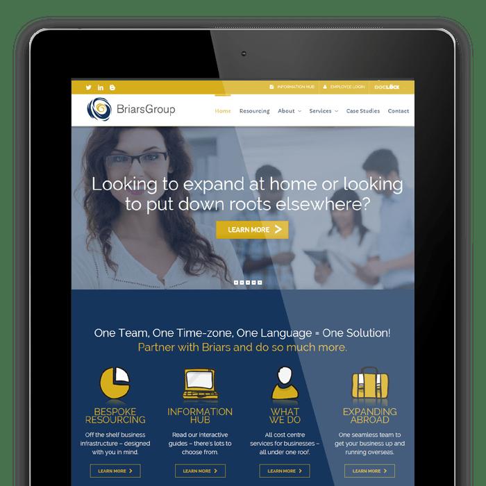 Briars Group Website